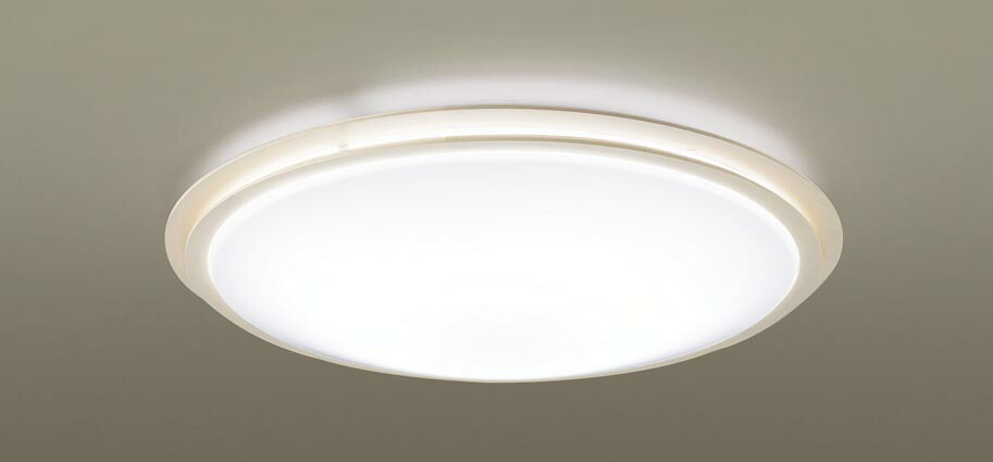 パナソニック Panasonic 【シーリングライトLGC31146 調光・調色(昼光色~電球色)【アクリルカバー】乳白つや消し 【木製】ホワイト仕上 ~8畳】