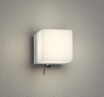 エクステリア 屋外 照明 ライトオーデリック ポーチライト OG254825BR Bluetooth通信対応人感センサー付 モード切替型白熱灯60W相当 マットシルバー 人感センサー キューブ 電球色 ブラケットライト ポーチライト