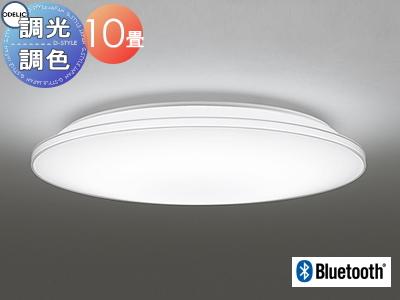 照明 おしゃれ ライトオーデリック ODELIC 【シーリングライトOL251213BC 電球色~昼光色透明モール カジュアルなモールデザイン Bluetooth対応機種 調光・調色タイプ・~ 10畳】