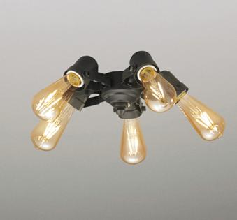 オーデリック ODELIC 【シーリングファン ヴィンテージウッド調 オプションWF835LC 灯具[フィラメントランプ・5灯] 調光・電球色・白熱灯30W×5灯相当】