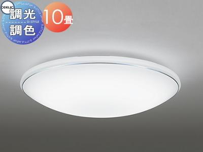 照明 おしゃれ ライトオーデリック ODELIC 【シーリングライトOL251198 電球色~昼光色シンプル&ライトのカジュアルデザイン 調光・調色タイプ・~ 10畳】