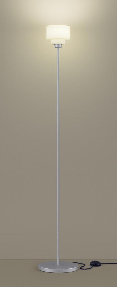 【無料プレゼント対象商品!】パナソニック Panasonic 【フロアスタンドライトSF965SZ 電球色シルバーメタリック フットスイッチ付 コード3m付演出に、読書に。幅広い使い方ができるスタンド。 25形電球1灯器具相当】