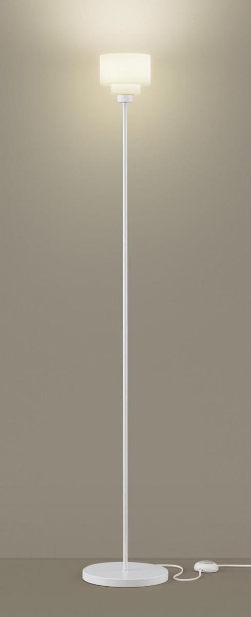 【無料プレゼント対象商品!】パナソニック Panasonic 【フロアスタンドライトSF965WZ 電球色ホワイト フットスイッチ付 コード3m付演出に、読書に。幅広い使い方ができるスタンド。 25形電球1灯器具相当】