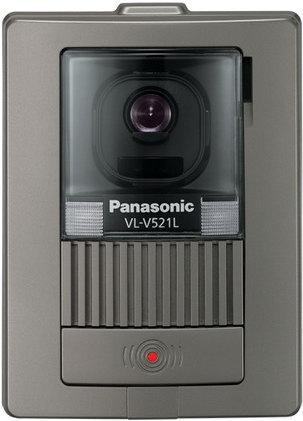 Panasonic(パナソニック)カラーテレビドアホン 【オプション】【別売カメラ玄関子機】【VL-V521L-S】【VLV521LS】【LEDライト搭載】【逆光補正付】 【インターホン】【ドアホン】