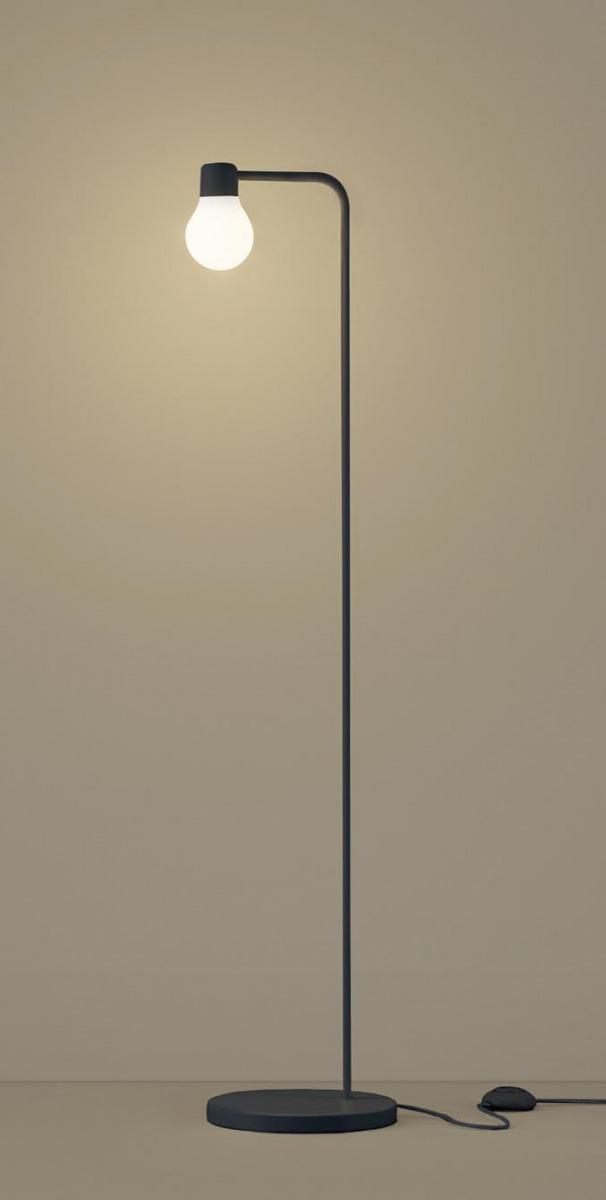【無料プレゼント対象商品!】パナソニック Panasonic 【スタンドライトSF918B 電球色SF919B 温白色フットスイッチ付 コード3m付ブラック ランプデザイン シリーズ60形電球1灯器具相当】