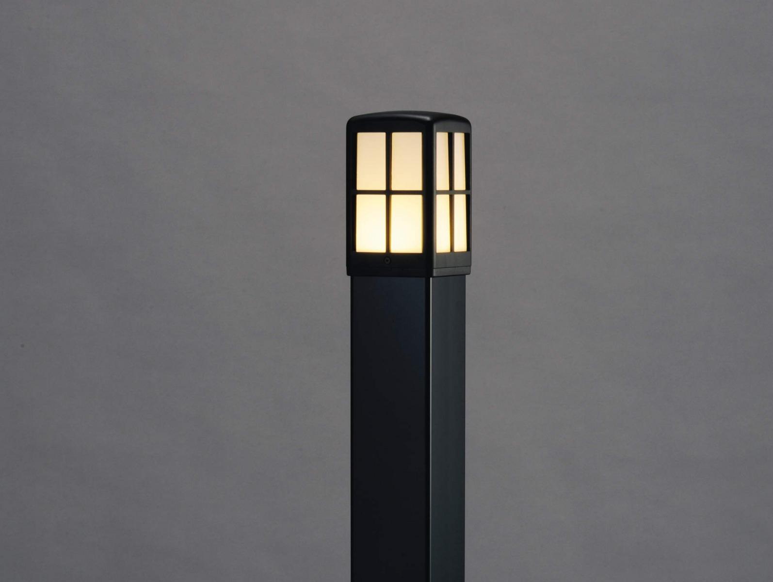 エクステリア 屋外 照明 ライト【三協アルミ】 照明器具 ガーデンライト【 GD9型 ブラック 】