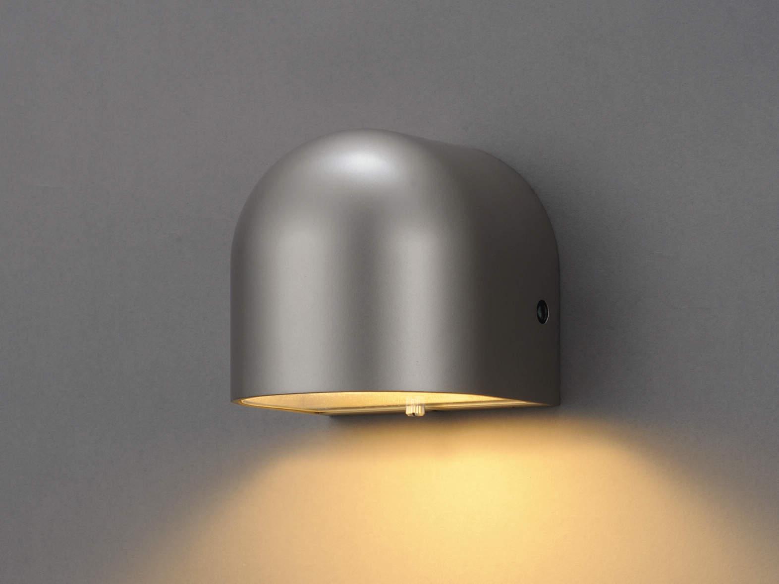 エクステリア 屋外 照明 ライト【三協アルミ】 照明器具 ポーチライト【 PD37型 シルバー アーバングレー ブラック 明るさセンサー付き】
