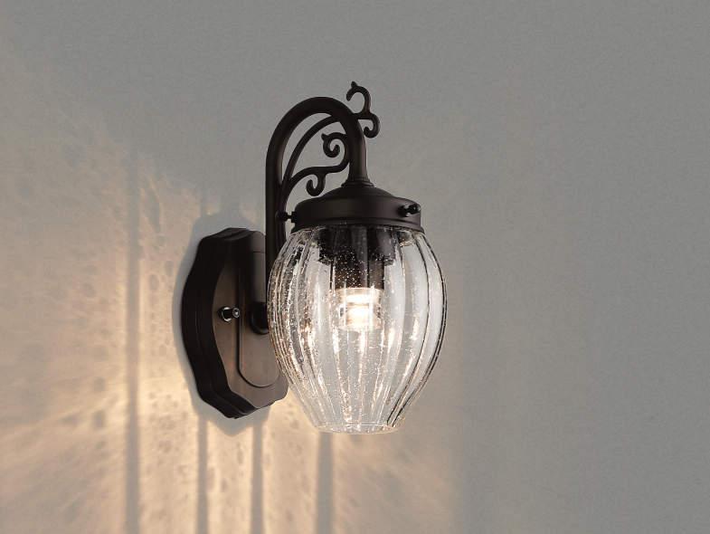 エクステリア 屋外 照明 ライト【三協アルミ】 照明器具 ポーチライト【 PD31K型 ブラック 上面遮光】