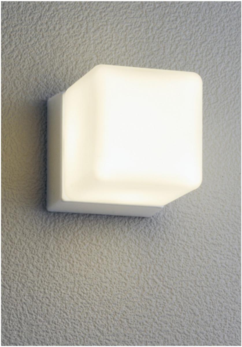 ユニソン(unison)エクステリア 屋外 照明 ライト 12V照明 表札灯 【エコルトウォールライト キューブライト シルバー EA0101812】 エコルトウォールライト
