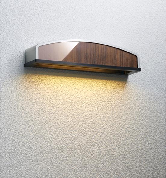 ユニソン(unison)エクステリア 屋外 照明 ライト 12V照明 表札灯 【エコルトウォールライト プラスト ブラウンアッシュ EA0701262】 エコルトウォールライト