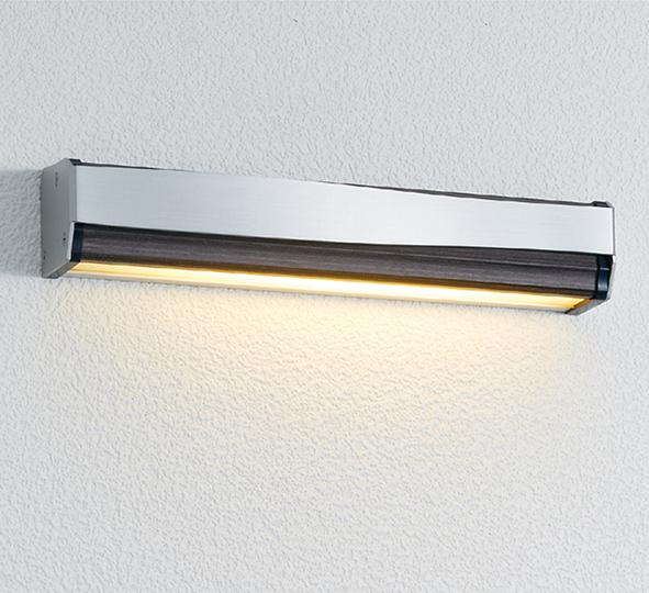 ユニソン(unison)エクステリア 屋外 照明 ライト 12V照明 表札灯 【エコルトウォールライト クルム 横幅257mmサイズ パイン EB070093210】 エコルトウォールライト