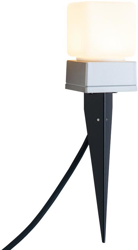 ユニソン(unison)エクステリア 屋外 照明 ライト ガーデンライト 【12V照明】 【エコルトポールライト EA0101912】 エコルトポールライト アプローチライト シルバー 電球色