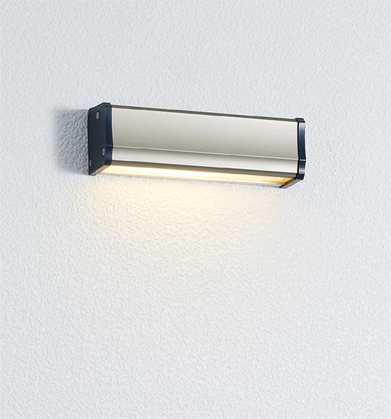 ユニソン(unison)エクステリア 屋外 照明 ライト 12V照明 表札灯 【エコルトウォールライト 横幅150mmサイズ シャンパンゴールド EA0700662】 エコルトウォールライト