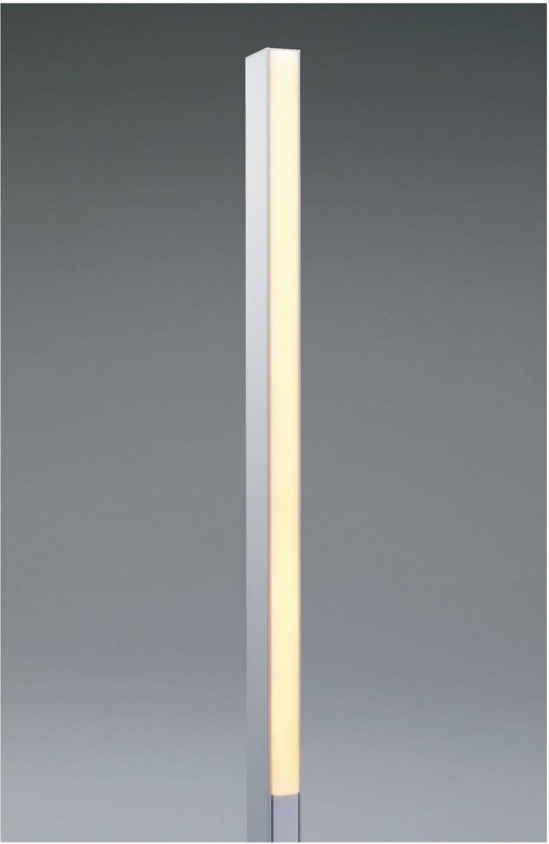 ユニソン(unison)エクステリア 屋外 照明 ライト ガーデンライト 【12V照明】 【エコルトポールライト EA0900112】 エコルトポールライト 片面発光 アプローチライト アルミシルバー 電球色