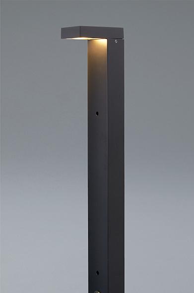 ユニソン(unison)エクステリア 屋外 照明 ライト 【PHOSY ポージィ ガーデンライト UNDWP-37256】 ポージィポールライト 地上高60cm ブラック