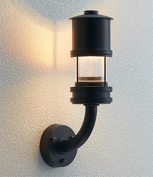 ユニソン(unison)エクステリア 屋外 照明 ライト 12V照明 表札灯 【エコルトウォールライト パドラ アンティーク エイジングブラック EA0800232】 エコルトウォールライト