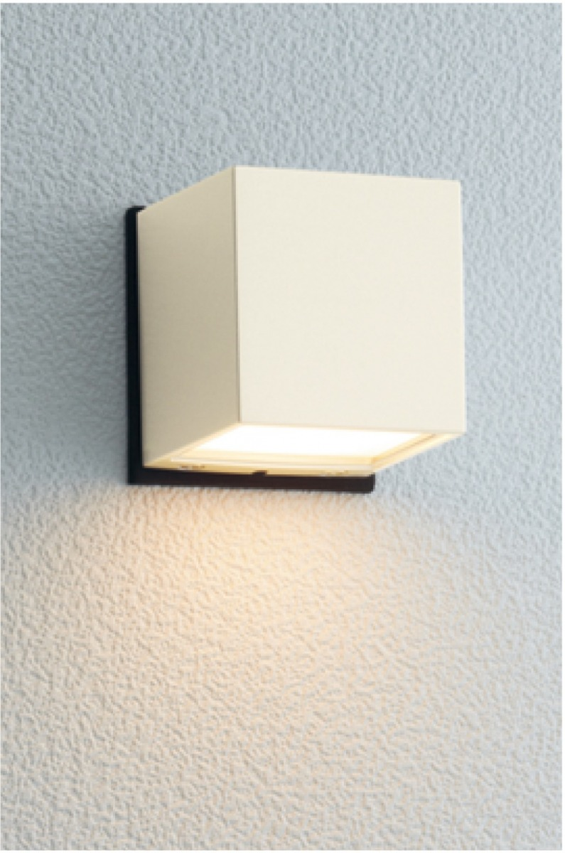 ユニソン(unison)エクステリア 屋外 照明 ライト 【PHOSY ポージィウォールライト UA0102142 オフホワイト】 表札灯 門柱灯