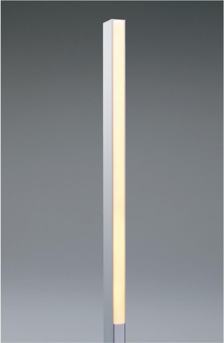 ユニソン(unison)エクステリア 屋外 照明 ライト ガーデンライト 【12V照明】 【エコルトポールライト EA0900212】 エコルトポールライト 両面発光 アプローチライト アルミシルバー 電球色