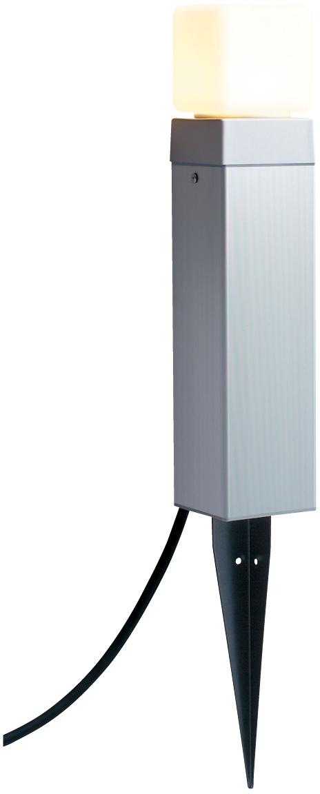 ユニソン(unison)エクステリア 屋外 照明 ライト ガーデンライト 【12V照明】 【エコルトポールライト EA0101612】 エコルトポールライト アプローチライト アルマイトシルバー 電球色