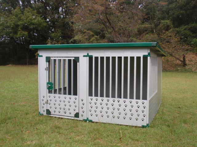 ペット用品 ドッグハウス DFD-2(1坪タイプ屋外用犬小屋)床無しタイプ ペット用品/ハウス/犬小屋/送料無料【小型犬 中型犬 大型犬 犬小屋】