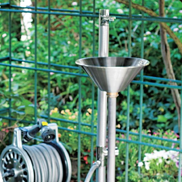 水栓柱 立水栓 ニッコーエクステリア コンパクトシンク【リベルタ [2] 】OPB-RS-36シンクパンは別売です ガーデニング 庭まわり 水廻り ウォーターアイテムNIKKO