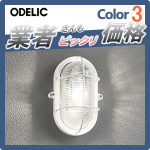 無料プレゼント対象商品!エクステリア 屋外 照明 ライトオーデリック(ODELIC) 【マリンライト OG254604LDホワイト】 ブラケットライト インダストリアル感漂う定番のあかり