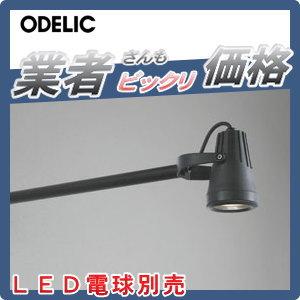 エクステリア 屋外 照明 ライトオーデリック(ODELIC) 【スポットライト OG254300】 看板灯 壁面取付 【ランプ別売】 LED