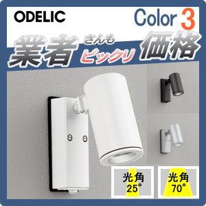 エクステリア 屋外 照明 ライトオーデリック(ODELIC) 【スポットライト OG254721 OG254722 OG254723 OG254724 OG254725 OG254726】 壁面 昼白色 人感センサON-OFF型