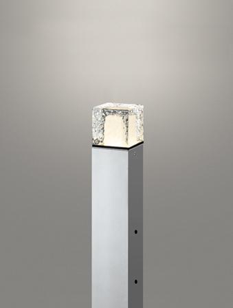 無料プレゼント対象商品!エクステリア 屋外 照明 ライトオーデリック(ODELIC) 【ポールライト OG254880LD マットシルバー 電球色】  地上高400 ポールライト ガーデンライト LED