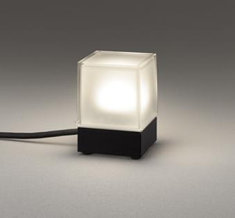 無料プレゼント対象商品!エクステリア 屋外 照明 ライトオーデリック(ODELIC) 【ガーデンライト OG254885 黒色 電球色 白熱灯60W相当】 プラグ付キャプタイヤケーブル5m 防雨型 ポールライト ガーデンライト LED