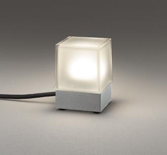 無料プレゼント対象商品!エクステリア 屋外 照明 ライトオーデリック(ODELIC) 【ガーデンライト OG254884 マットシルバー色 電球色 白熱灯60W相当】 プラグ付キャプタイヤケーブル5m 防雨型 ポールライト ガーデンライト LED