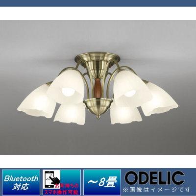 無料プレゼント対象商品!オーデリック ODELIC 【シャンデリアOC006917BC 電球色~昼光色クラシカルでエレガントな佇まい Bluetooth対応機種 調光調色・~8畳】