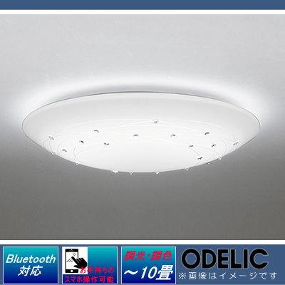 無料プレゼント対象商品!オーデリック ODELIC 【シーリングライトOL251830BC 電球色~昼光色ビーズと模様の クリアなきらめき Bluetooth対応機種 調光・調色タイプ・~ 10畳】