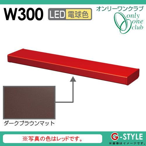 オンリーワンエクステリア 照明 ポーチライト 【シンライト プレーンタイプ W300 電球色 ダークブラウンマット(DM)】 Thin Light