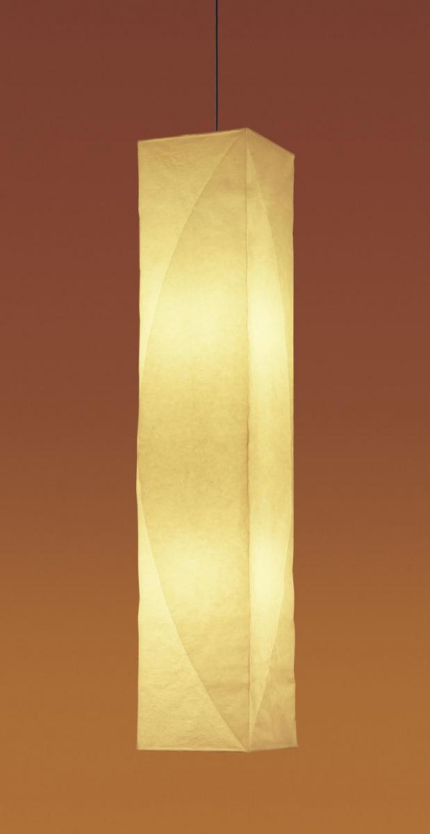無料プレゼント対象商品!パナソニック Panasonic 【和風照明 吹き抜け灯LGB19280K 電球色手もみ和紙張りセード 引掛シーリング方式 縦長フォルムで、吹き抜け空間を明るく、個性的に 100形電球2灯器具相当】