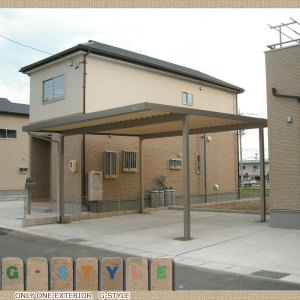 【美濃加茂市 セッパンガレージ 施工事例】HD破風H3500L  5200×6000