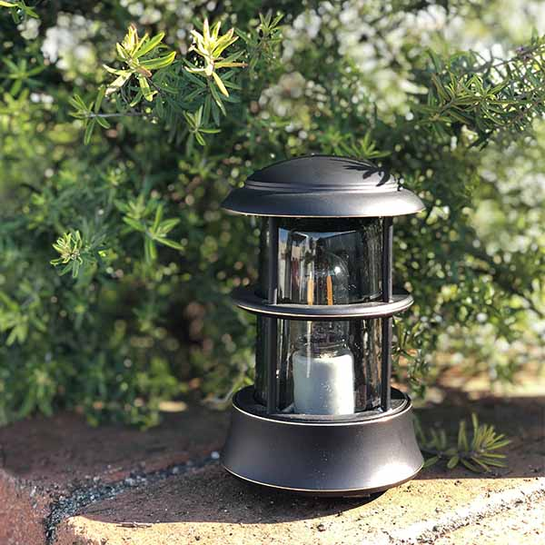 セキスイデザインワークス ブラックシリーズ デッキライト【BH1010MINI BK Pikku ピック くもりガラス IIA91B】 エクステリア 屋外 照明 ライト