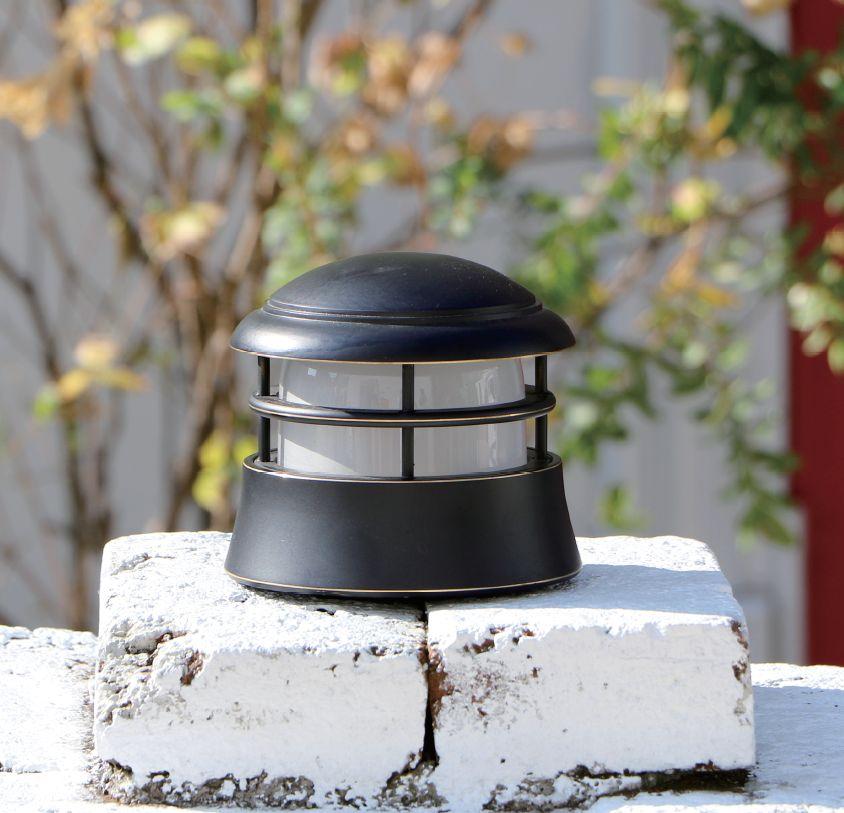 セキスイデザインワークス ブラックシリーズ デッキライト【BH1000LOW BK Sopo ソポ くもりガラス IIA96B】 エクステリア 屋外 照明 ライト