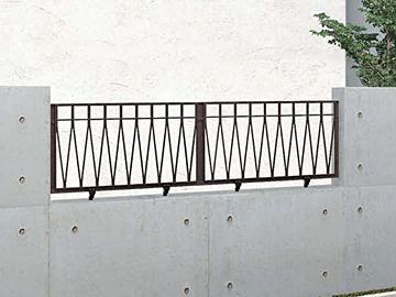LIXIL(TOEX) アプローチ ルナ AN型フェンス 【現場打ち合わせ無料・全国工事対応・3枚以上ご注文で送料無料】