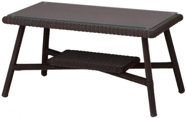庭座 カフェテーブル 900 (ダークブラウン)