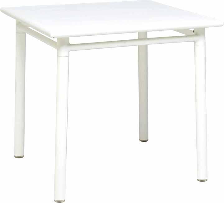 TABLE&CHAIR テーブル&チェア (リゾートガーデンシリーズ) NCテーブル80×80