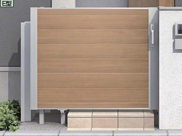LIXIL(TOEX) アーキスライドE型 複合色 ゲート・門扉【現場打ち合わせ無料・全国工事対応】