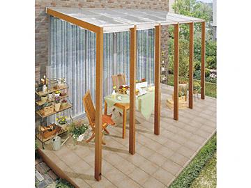 TOEX cocomaII オープンテラス テラスタイプ テラス屋根 【現場打ち合わせ無料・全国工事対応・送料無料】