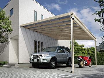 YKKAP ヴェクターテラス F型 ビッグサイズ 単体 テラス屋根 【現場打ち合わせ無料・全国工事対応・送料無料】