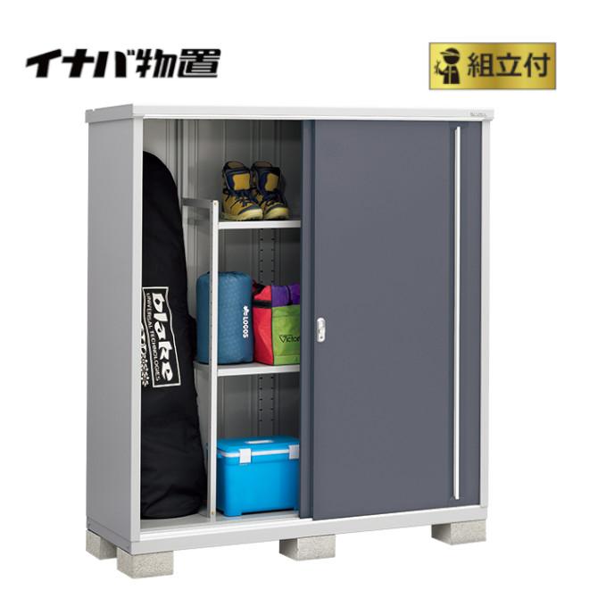 イナバ物置 シンプリー MJX-176E (P) 【 標準組立付 】 稲葉製作所 物置き タイヤ収納 収納庫 ガーデン収納庫