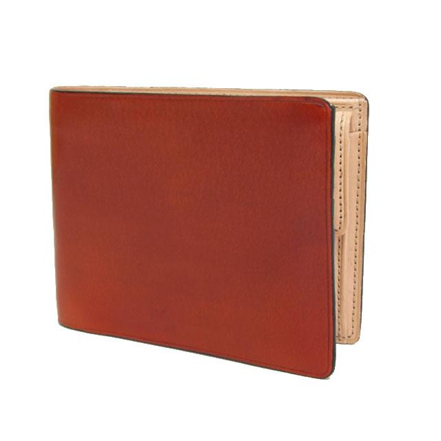 イル・ブセット IL Bussetto イルブセット 財布 メンズ 二つ折り財布 レッド