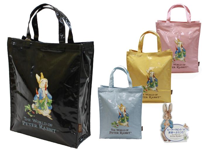 exas | Rakuten Global Market: Peter Rabbit cotton print vinyl tote ...