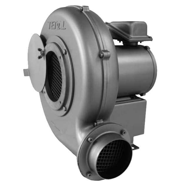 KTS-6075T-BH-R-E (0.75KW-60HZ) 送風機 テラル