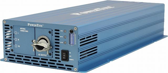 堅牢小型業務用DC-AC正弦波インバーター PowerTite(未来舎) VF3007A-48VDC