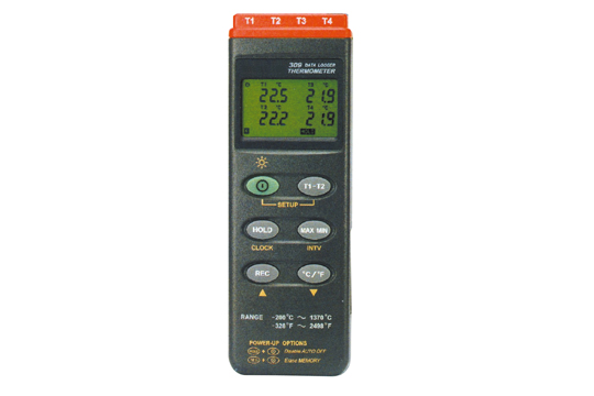 MT-309 デジタルデータロガ温度計(4点式) マザーツール MotherTool